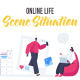 Online life - Scene Situation - VideoHive Item for Sale