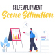 Selfemployment - Scene Situation - VideoHive Item for Sale