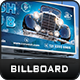 Car Wash Billboard Template - GraphicRiver Item for Sale