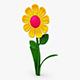 Cartoon Flower v 1 - 3DOcean Item for Sale