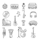 Music Items Icons Set - GraphicRiver Item for Sale