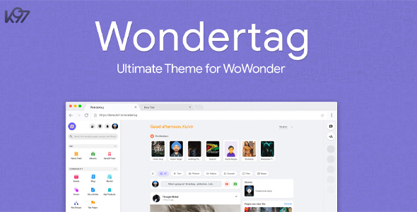 Wondertag - The Ultimate WoWonder Theme Download