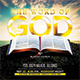 The Word of God Church Flyer - GraphicRiver Item for Sale