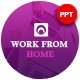 Work From Home Presentation Template - GraphicRiver Item for Sale