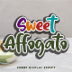Sweet Affogato - GraphicRiver Item for Sale