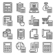 Calculator and Calculation Icons Set on White - GraphicRiver Item for Sale