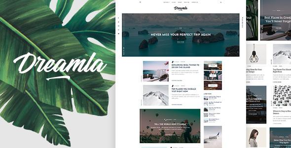 Dreamla - Clean WordPress Blog