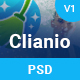 Clianio - Cleaning Services PSD Template - ThemeForest Item for Sale