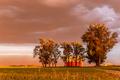 Dust Storm near Barn - PhotoDune Item for Sale