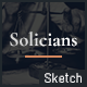 Solicians - Attorney Law Firm Sketch Template - ThemeForest Item for Sale