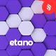 Etano - 3D Colorful Hexagon Background Set - GraphicRiver Item for Sale
