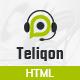 Teliqon - Call Center & Telemarketing HTML Template - ThemeForest Item for Sale