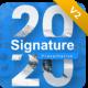 2020 Signature Multipurpose Premium Potrait Presentation Template - GraphicRiver Item for Sale