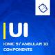 Koddy | Ionic 5 / Angular 10 UI Theme / Template App | Components & Starter App - CodeCanyon Item for Sale