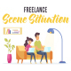 Freelance - Scene Situation - VideoHive Item for Sale
