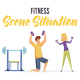 Fitness - Scene Situation - VideoHive Item for Sale