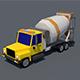 Concrete Mixer Truck - 3DOcean Item for Sale