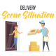 Delivery - Scene Situation - VideoHive Item for Sale