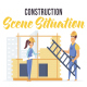 Construction - Scene Situation - VideoHive Item for Sale