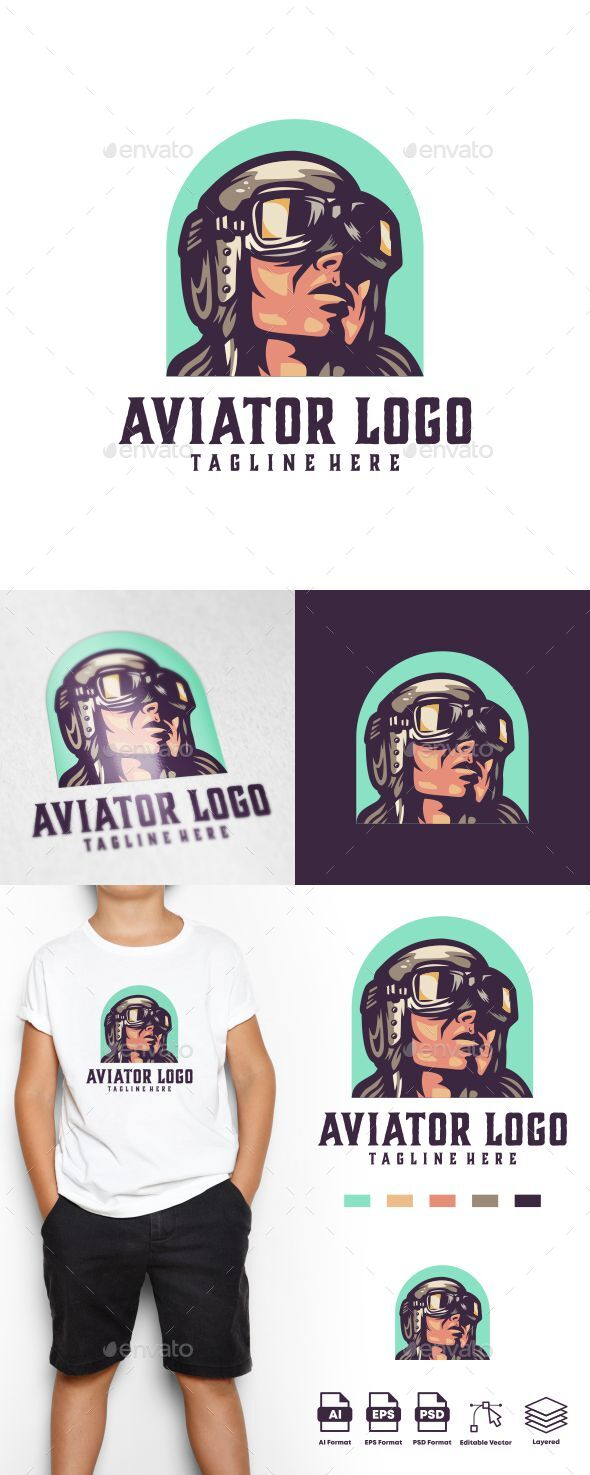 Aviator Logo Templates