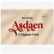 Asdaen Ligature - GraphicRiver Item for Sale