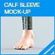 Calf Sleeve Mock-up - GraphicRiver Item for Sale