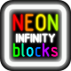 Infinity Neon Blocks - HTML5 PC & Mobile Game (Construct 2-3) - CodeCanyon Item for Sale