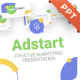 AdStart Creative Marketing Powerpoint Presentation Template Fully Animated - GraphicRiver Item for Sale