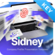 Sidney Company Profile Keynote Presentation Template Fully Animated - GraphicRiver Item for Sale