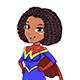 Super Woman Black - GraphicRiver Item for Sale