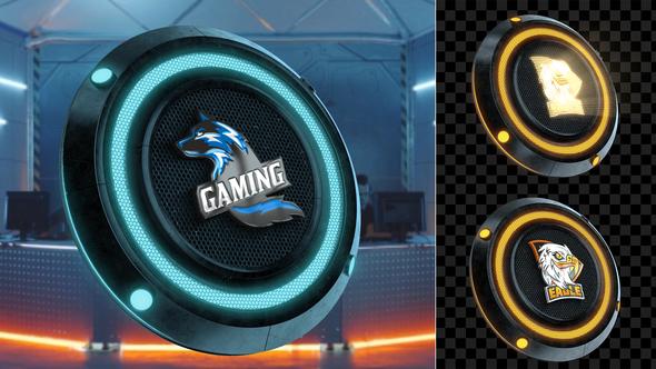 Hi-Tech Logo Transition