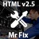 Mr Fix - Car Repair Service HTML5 Template - ThemeForest Item for Sale