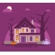 Halloween Haunted House - GraphicRiver Item for Sale