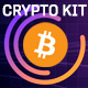Crypto Currency Coin Market Kit | Bitcoin Tracker - VideoHive Item for Sale