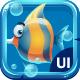 Atlantis Ruins - Casual Game UI - GraphicRiver Item for Sale