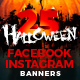 25 Halloween Banners - GraphicRiver Item for Sale