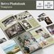 Retro Photo Book Template - GraphicRiver Item for Sale
