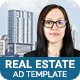 Real Estate | Reliable Agent Banner (RE002) - CodeCanyon Item for Sale