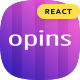 Opins - React Next App Landing Page Template - ThemeForest Item for Sale