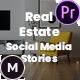 Real Estate Social Media Stories for Instagram / Facebook / Snapchat – Premiere Pro - VideoHive Item for Sale