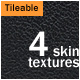 4 Skin Textures Pack - GraphicRiver Item for Sale