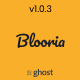 Blooria - Modern and Clean Magazine Ghost Blog Theme - ThemeForest Item for Sale