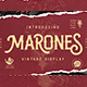 Marones - GraphicRiver Item for Sale