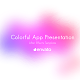 Colorful App Presentation - VideoHive Item for Sale