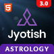 Jyotish - Astrology and Numerology HTML Template - ThemeForest Item for Sale