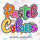 Pastel Colors - GraphicRiver Item for Sale