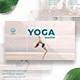 Yoga Instructor Facebook Marketing Materials - GraphicRiver Item for Sale