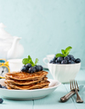 Delicious pancakes with chocolate drops - PhotoDune Item for Sale
