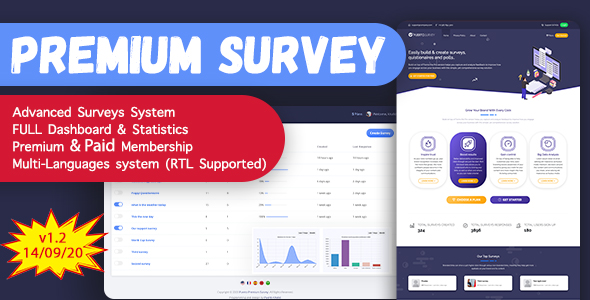Puerto Premium Survey Builder SAAS