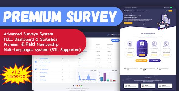 Puerto Premium Survey Builder SAAS